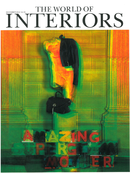 THE WORLD OF INTERIORS  DECEMBER 2012