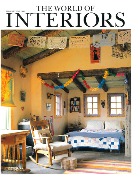 THE WORLD OF INTERIORS FEBRUARY 2012
