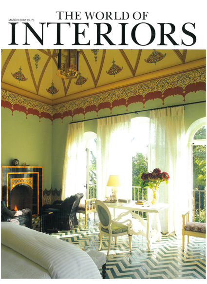 THE WORLD OF INTERIORS MARCH 2012