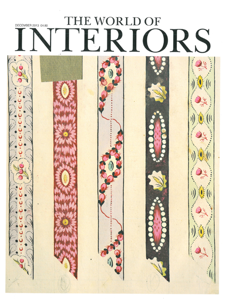 THE WORLD OF INTERIORS  DECEMBER 2013